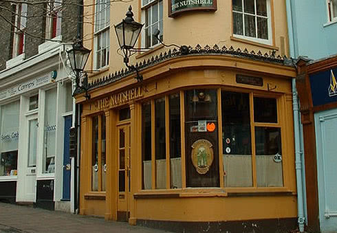 Visit Britain's smallest pub